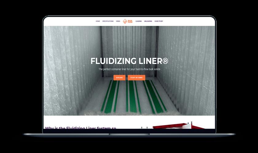 fluidizing liner