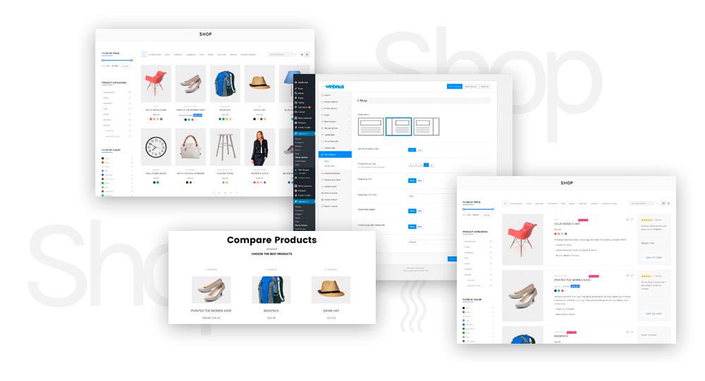 diseño tiendas online barcelona moderno