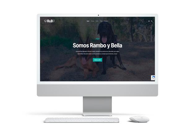 proyecto web para Rambo & Web